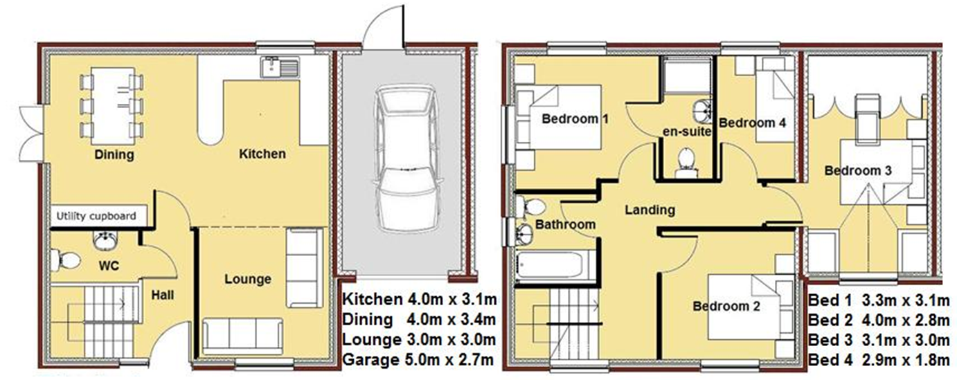 Plot 6 floor plan cairns heritage homes for House plans cairns