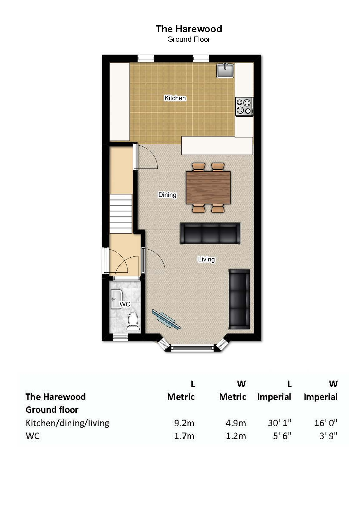 Plot 13 The Harewood Cairns Heritage Homes – Harewood House Floor Plan